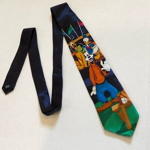 MICKEY UNLIMITED Goofy silk tie